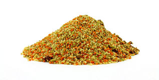 Couscous with Dehydrated Vegetable Pieces Stock Image