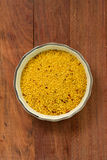 Couscous in dish Royalty Free Stock Photos