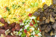 Couscous Farofa Photos stock