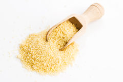 Couscous heap Royalty Free Stock Images