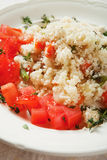 Couscous with herbs and tomato Stock Images