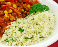 Couscous And Lentil Hotpot Stock Photo
