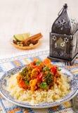 Couscous marocain Royalty Free Stock Photos
