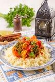 Couscous marocain Royalty Free Stock Photo