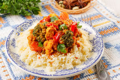 Couscous marocain Stock Images