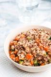 Couscous med grönsaker Fotografering för Bildbyråer