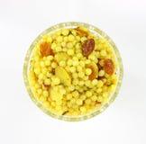 Couscous mit Moosbeeren Lizenzfreies Stockbild