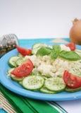 Couscous mit Salad Stock Photo