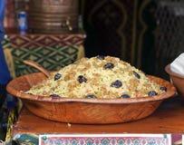 couscous naczynia restauracja zdjęcie royalty free