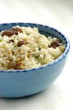 Couscous with raisins, nuts and coriander Stock Images
