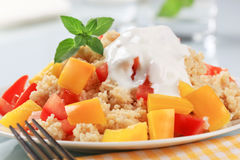 Couscous salad Royalty Free Stock Photos