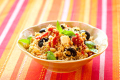 Couscous salad Stock Photography