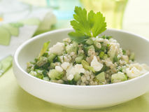 Couscous salad Stock Images