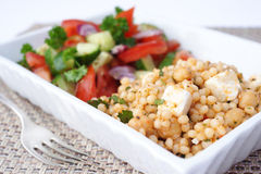 Couscous salad Stock Images