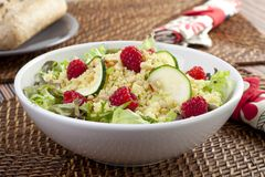 Couscous Salad Dinner Stock Image