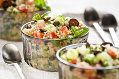 Couscous-Salat Lizenzfreie Stockfotografie