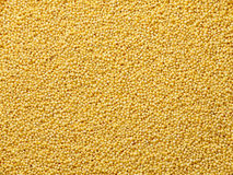 Couscous seeds flat food background Stock Image