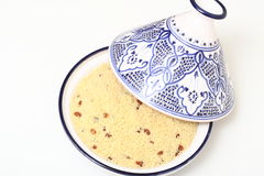 Couscous and Tagine Stock Photo