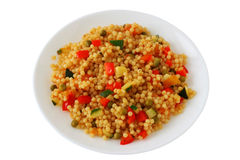 Couscous with vegetables Royalty Free Stock Photo