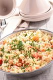 Couscous with vegetables Royalty Free Stock Photos