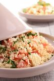 Couscous with vegetables Stock Photography