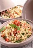 Couscous with vegetables Stock Photos