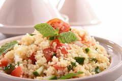 Couscous with vegetables Stock Image