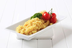 Couscous and vegetables Stock Image