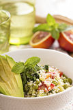 Couscous with vegetables Royalty Free Stock Images
