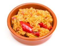 Couscous with vegetables Royalty Free Stock Image