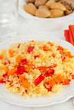 Couscous with vegetables Stock Images