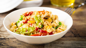 Couscous with veggies Stock Photography