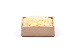 Couscous on white Stock Images