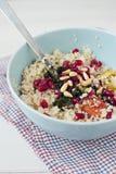 Couscous z świeżymi veggies Zdjęcia Stock