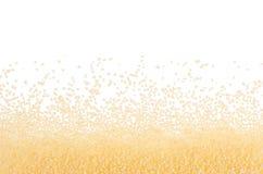 Couscous zboża jako dekoracyjna granica, odosobniona Odgórny widok, zbliżenie Obraz Royalty Free