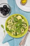 Couscous and zucchini  salad. Stock Image