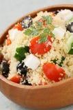 Couscoussalat, kuskus Salat Stockfotografie