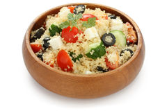 Couscoussalat, kuskus Salat Lizenzfreie Stockfotos