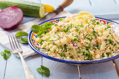 Couscus and vegetables Stock Photo