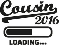 Cousin 2016 loading. Bar Stock Photo