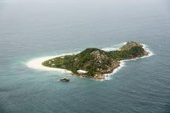 Cousine Island Aerial, Seychelles Stock Photos