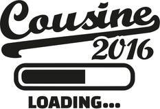Cousine 2016 loading. Bar Royalty Free Stock Photo