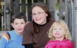 Cousins heureux 2. Photo libre de droits
