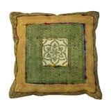 Coussin décoratif de vintage image libre de droits