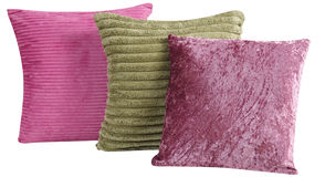 Coussin. D'isolement images stock