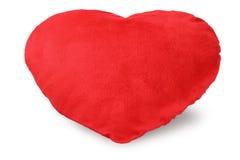 Coussin de coeur d'amour Photo libre de droits