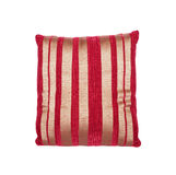Coussin rayé images stock