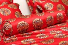 Coussin rouge photo libre de droits