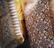 Coussins confortables modelés Image stock