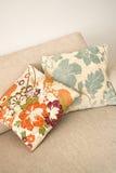 Coussins floraux Images libres de droits